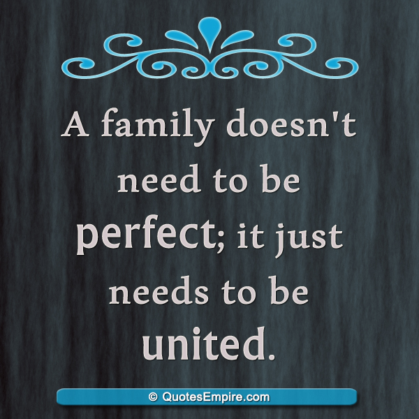What Family Means To Me Quotes: Family Means Unity
