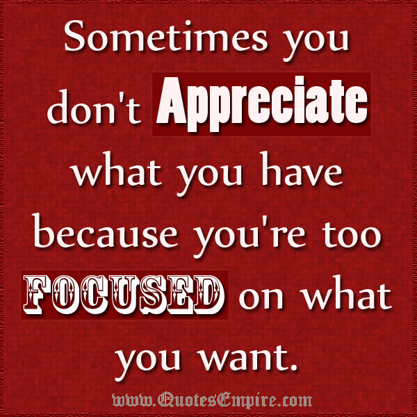 I Appreciate You Quotes - Search Quotes