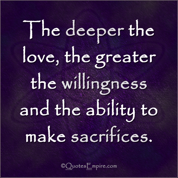 Love Needs To Be Deeper