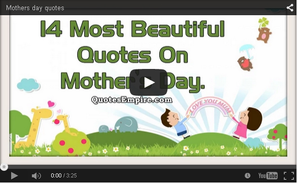 Mothers day quotes collection video